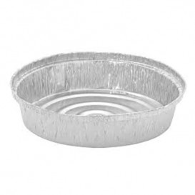 Contenitore in Alluminio 935ml Circolari per Pollo (500 Pezzi )