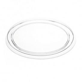 Coperchio plastico per Vaschetta Alluminio Budino 127ml (150 Pezzi)