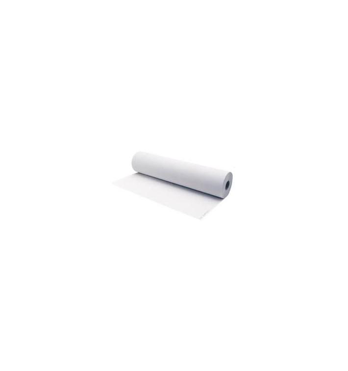 Rotolo Di Carta Pretagliata Per Lettini 70m Bianco (6 Pezzi)
