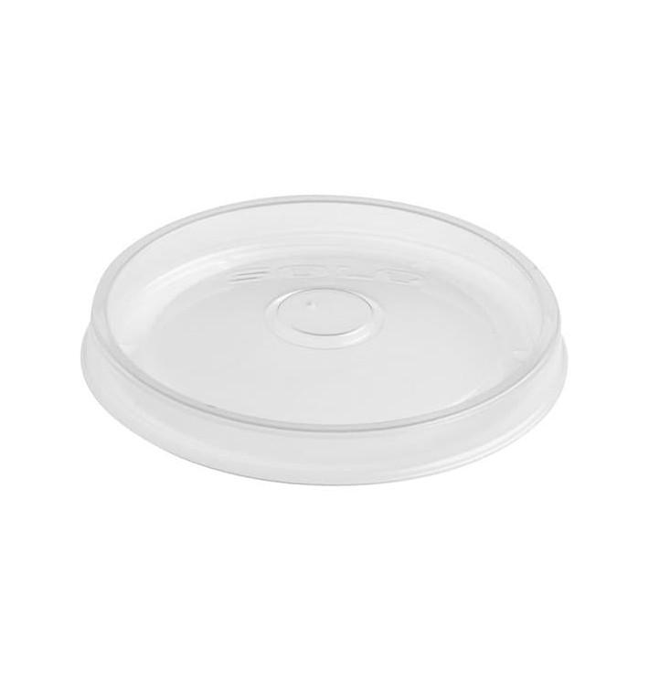 Coperchio Piatto Plastica PP Traslucida Ø9,8cm (50 uds)