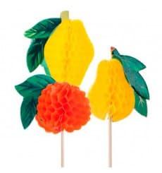 Decorazioni per Gelato Frutta 10 cm (100 Einheiten)