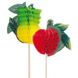 Decorazioni per Gelato Frutta 20 cm (100 Pezzi)