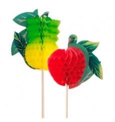 Decorazioni per Gelato Frutta 20 cm (100 Einheiten)