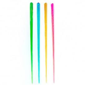Palette di Plastica Fluo 175mm (100 Pezzi)