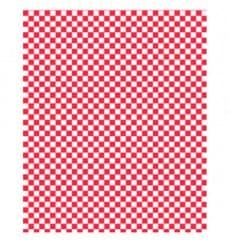 Carta Antigrasso Rosso 28x33cm (1000 Pezzi)