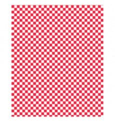 Carta Antigrasso Rosso 28x33cm (4000 Pezzi)