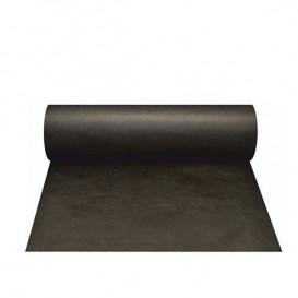 Tovaglia Rotolo Non Tessuto Pretagliati 0,4x48m Nero 50g (1 Pezzi)