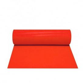Tovaglia Rotolo Non Tessuto Pretagliati 0,4x48m 50g Rosso (6 Pezzi)