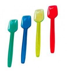 Cucchiaino di Plastica per Gelatos 92 mm (1.000 Pezzi)