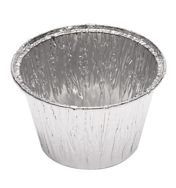 Pirottino in Alluminio FLAN 127ml  (100 Pezzi)