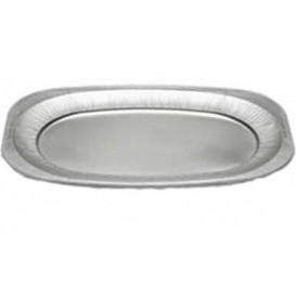 Vassoio Ovale di Alluminio 2150ml (10 Pezzi)