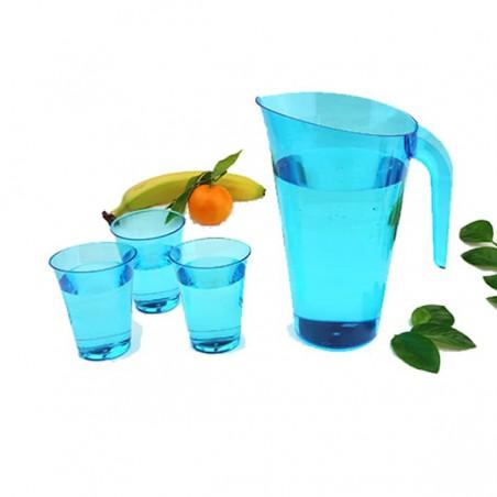 Brocca Plastica Turchese Riutilizzabile 1.500 ml (1 Unità)