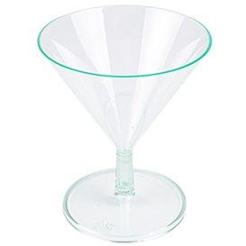 Coppa di Plastica Water Green 65ml (12 Pezzi)
