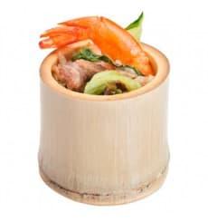 Bicchiere di Bambu Degustazione Piccolo 5x5x4,5cm (20 Pezzi)