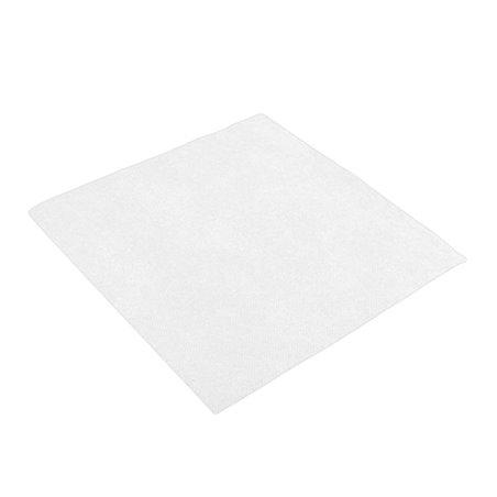 Tovagliolo di Carta 40x40cm Bianco Punta- Punta (50 Pezzi)