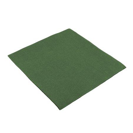 Tovagliolo di Carta 40x40cm Verde Punta- Punta (1.200 Pezzi)