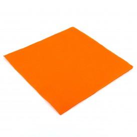 Tovagliolo di Carta 40x40cm Arancione Punta- Punta (1.200 Pezzi)