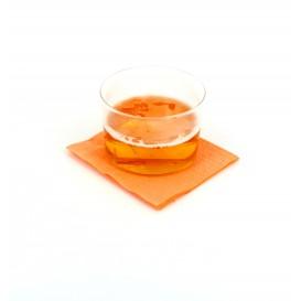 Tovagliolo di Carta Cocktail 20x20cm Salmone (100 Pezzi)