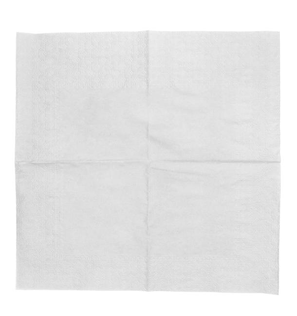 Tovagliolo di Carta Cocktail 20x20cm Bianco (6.000 Pezzi)