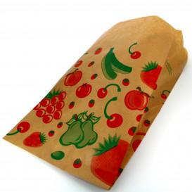 Sacchetto di Carta per Frutta 18+10x32cm (100 Pezzi)