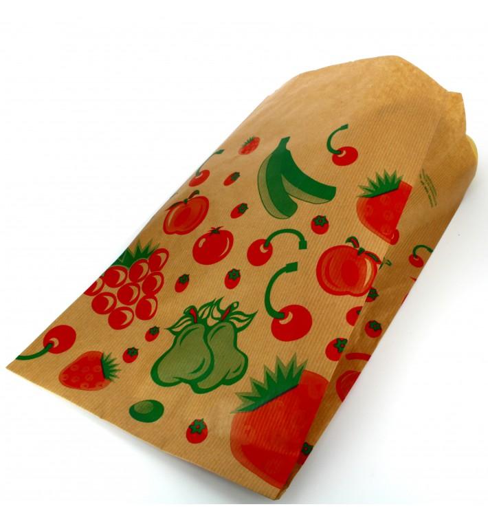 Sacchetto di Carta per Frutta 18+10x28cm (100 Pezzi)