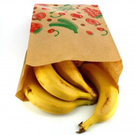 Sacchetto di Carta per Frutta 18+10x28cm (1000 Pezzi)