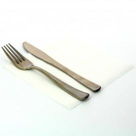 Tovagliolo di Carta Bianco 33x33 1 Veli Bianco (100 Pezzi)
