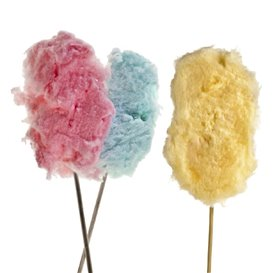 Bastone per zucchero filato 40 cm (50 Pezzi)